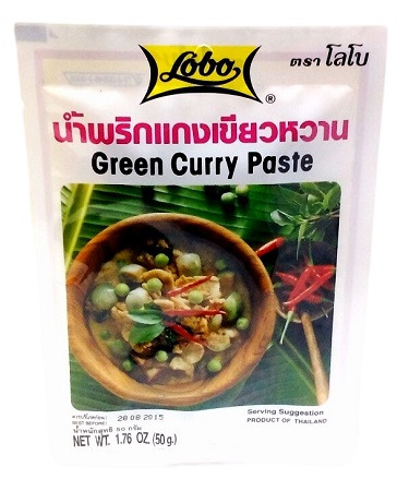 Green curry paste - Lobo 50 gr.